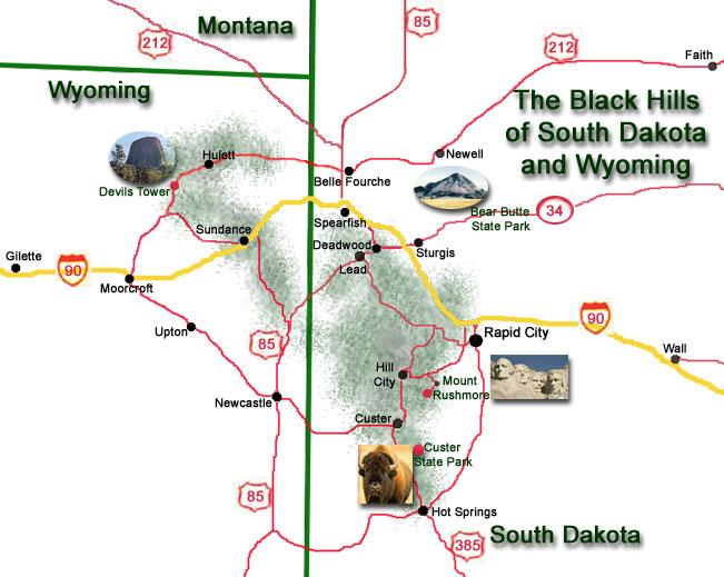 Our Community – Black Hills Tourist Map